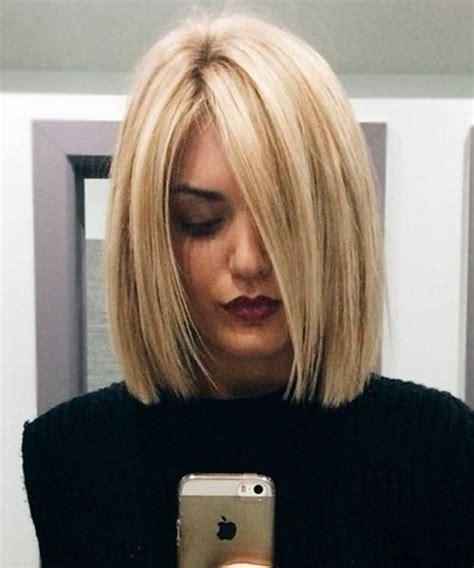 breathtaking shoulder length blunt bob hairstyles