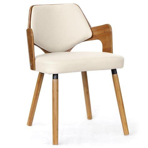 Chaises En Cuir Blanc by Chaises Simili Cuir Blanc Maison Design Wiblia