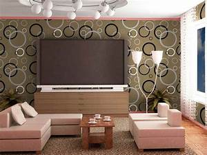 Best Wallpaper Designs For Living Room New With Best ...