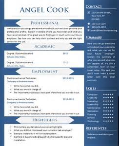 free download cv curriculum vitae writing template creative sle resume templates