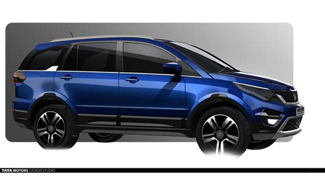 Tata Hexa Design 1 Carblogindia