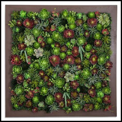 indoor artificial succulent walls artificial plants unlimited