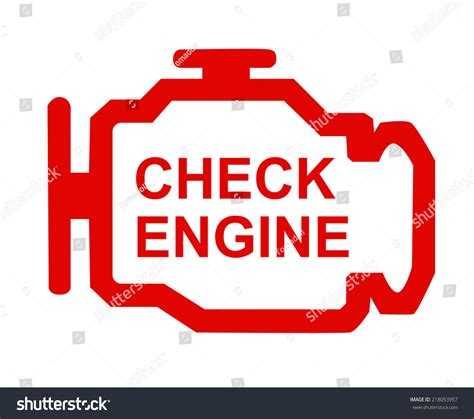 does o reilly check engine light for free check engine stock photo 218053957 shutterstock