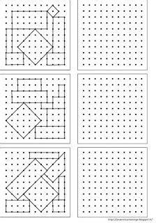 remue meninge reproduction de figures sur papier pointe