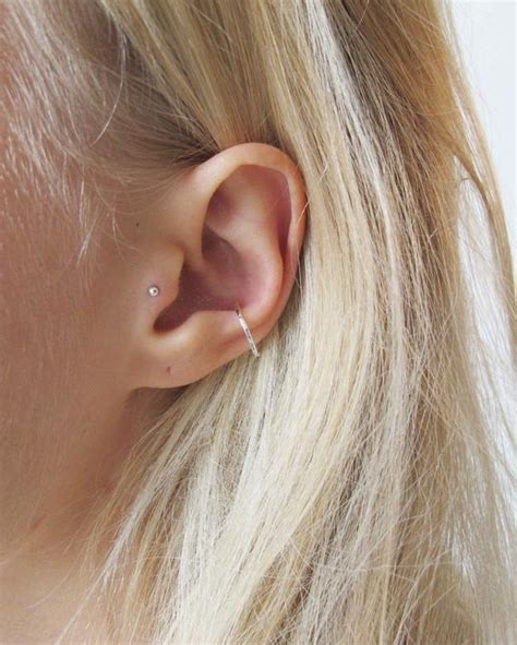 piercing oreille conch silver conch piercing gold conch hoop conch hoop