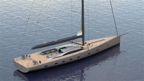 Monohull Boat by Project Alpha By Oyster Yachts Will Be One Sailing