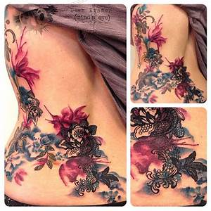 flower watercolor lace tattoo - Google Search | Tattoo ...