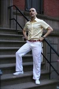 "White Linen Pants and ""Butter"" Cotton Shirt – Mood Sewing ..."