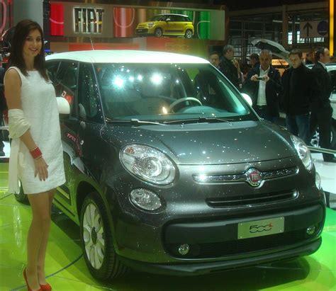 fiat 500 l 4 portes italie salon de l automobile geneve