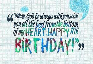 Sweet 17 birthday wishes and messages with images ...