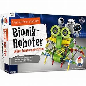 Roboter Selber Bauen Für Anfänger : franzis der kleine hacker bionik roboter selber bauen und erleben mytoys ~ Watch28wear.com Haus und Dekorationen