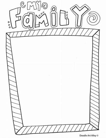 Coloring Pages Reunion Doodle Template Printables Alley