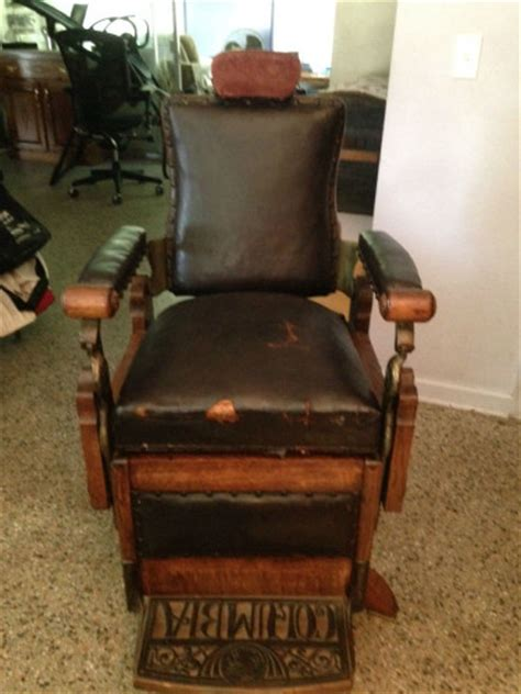 Kochs Barber Chair History by 19th Century Kochs Tiger Eye And Brass Barber Chair