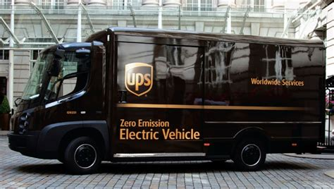 ups  deploy  electric delivery trucks  collaboration