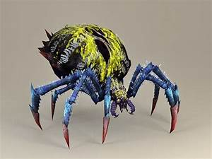 Giant Spider 3d Model 3ds Max Files Free Download