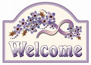 ArtbyJean - Purple Wood Roses: Make your own Welcome Sign ...