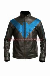 American Eagle Size Chart Mens Nightwing Motorcycle Leather Jacket Grayson Costume