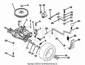 Poulan Pp1136j Tractor Parts Diagram For Transaxle
