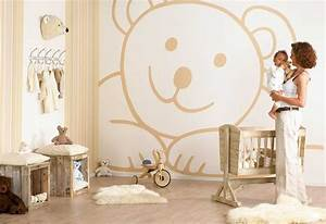 Lovely wall design ideas for kids room home interior