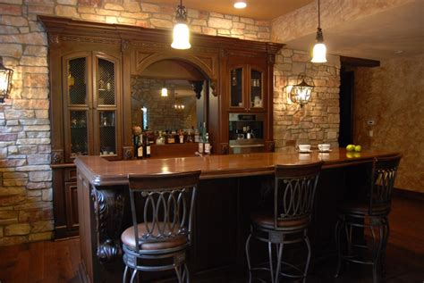 Custom Built Home Bars by Custom Home Bar Cabinets By Graber