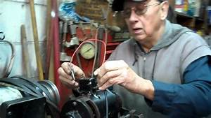 Setting Polarity And Adjusting Output Of 1952 Auto Lite 6 Volt Generator