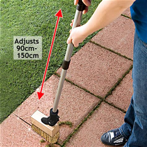 garden patio paving moss brass brush remover tool ebay