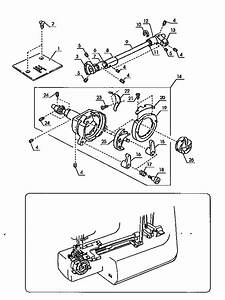 Kenmore 38512912890 Mechanical Sewing Machine Parts
