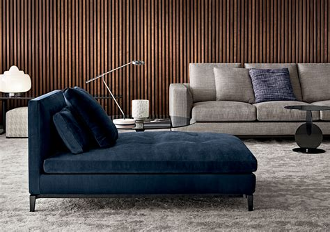 canapé chaise longue andersen chaise longue designed by rodolfo dordoni