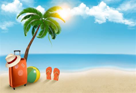 Background clipart summer   Clipart Collection   Summer holiday cartoon background clip, summer
