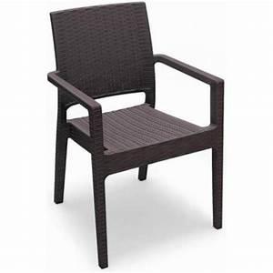 Fauteuil De Jardin En Résine Tressée : fauteuil pour jardin r sine ~ Teatrodelosmanantiales.com Idées de Décoration