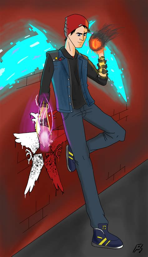 Infamous Second Son Enjoy Your Power By Megaartist923 On