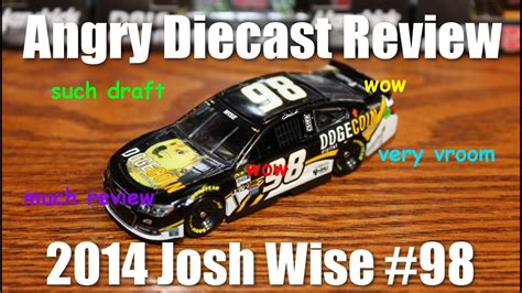 Angry Diecast Review: 2014 Josh Wise Dogecoin Chevy - YouTube