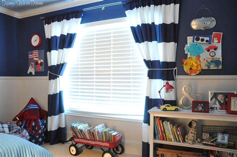 navy and white striped curtains west elm room west elm shower curtain into drapes honey
