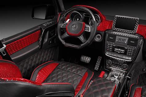 mercedes benz  red interior topcar