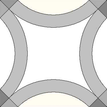 seeking pattern  solid ring double wedding ring quilt