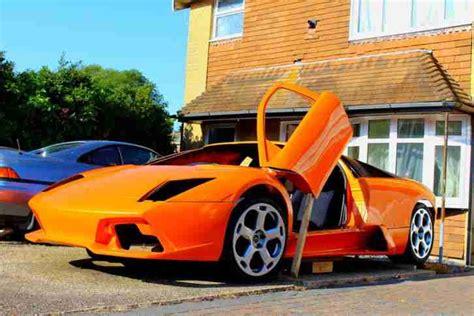 lamborghini murcielago extreme replica kit car project car for sale