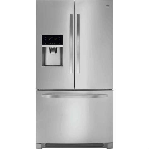 counter depth refrigerator dimensions sears kenmore 22 cu ft counter depth door refrigerator
