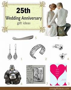 25th wedding anniversary gift ideas vivid39s With 25th wedding anniversary gift ideas for husband