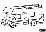 Camper Rv Coloring Pages Printable Camping Campervan Motorhome Sheets Colouring Trailers Tiny Oncoloring Survival sketch template