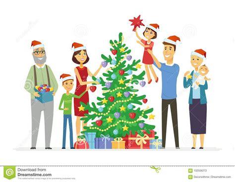 cartoon family tree vector illustration cartoondealer