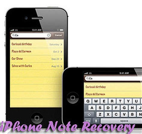 iphone notes recovery iphone data recovery how to recover deleted notes from