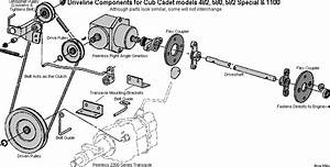 Driveline Components For Cub Cadet Models 482  582 Special
