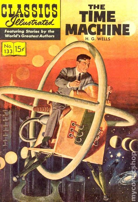 classics illustrated   time machine  comic books