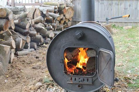 building  simple barrel stove