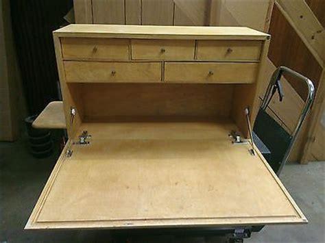 wooden craft model makers workstation desk