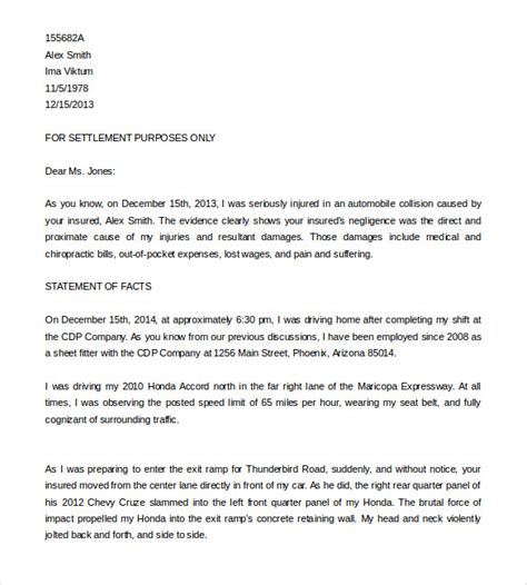 demand letter template template business