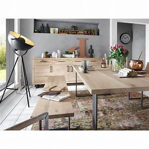 Sideboard Wildeiche Massiv Geölt : bodahl woodstock sideboard wildeiche massiv 210cm 5 ~ Watch28wear.com Haus und Dekorationen