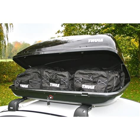 box auto thule prezzi thule 100 car roof box from direct car parts