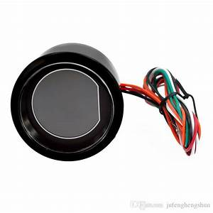 2019 Hot 2 Inch 52mm Water Temperature Gauge 12v Blue