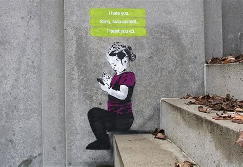 social banksy street likes artwork nobody xcitefun artist artworks redes iheart vancouver contemporary streetart culture based most nao sociais